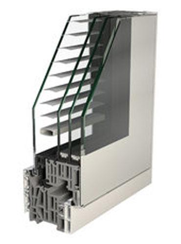 como novedad para el ao presentamos los nuevos sistemas de ventanas de nuestro proveedor finstral aluminio interior ncleo de pvc aluminio exterior